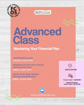Advanced Class Juli 2019