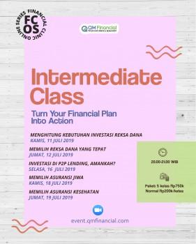 Intermediate Class - Juli 2019