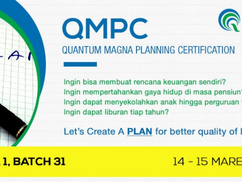 QMPC Level 1 Batch 31: 14-15 Maret 2014