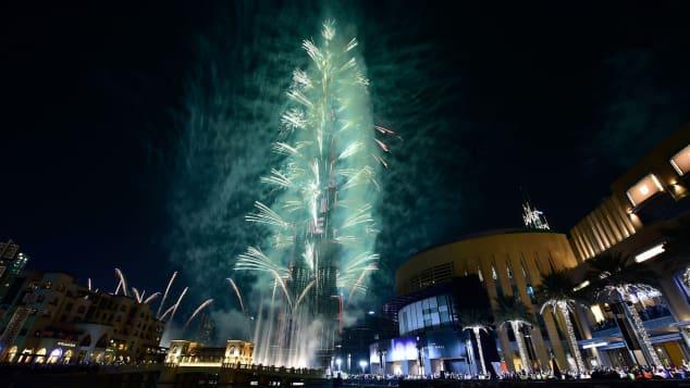 Rayakan malam tahun baru di Dubai